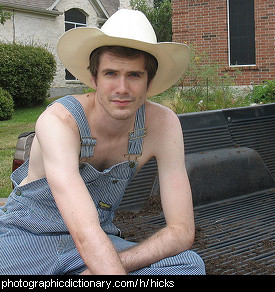 Photo of a hick