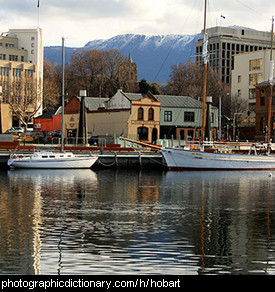 Photo of Hobart, Tasmania