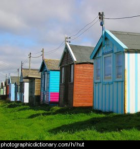 Photo of beach huts