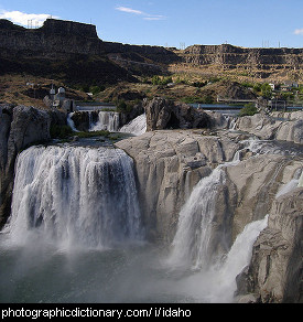 Photo of Shoshone falls, Idaho