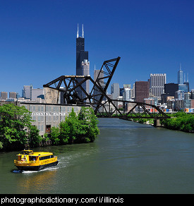 Photo of the Chicago River