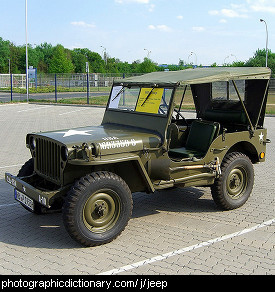 Photo of a jeep