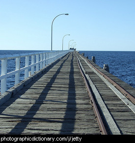 Photo of a jetty