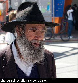 Photo of a Jewish man
