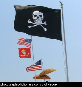 Photo of a jolly roger