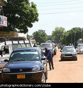 Photo of Juba, South Sudan