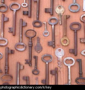 Photo of some keys