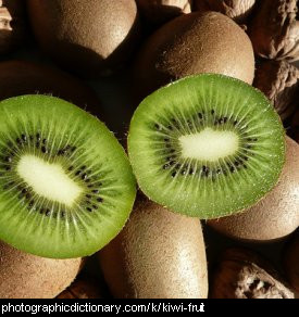 Photo of kiwi fruit
