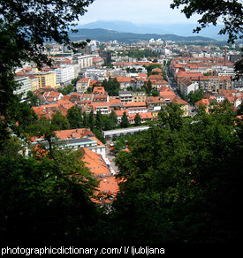 Photo of Ljubljana, Slovenia