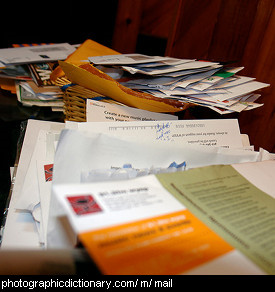 Photo of some mail