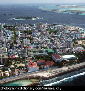 Photo of Malé, the Maldives
