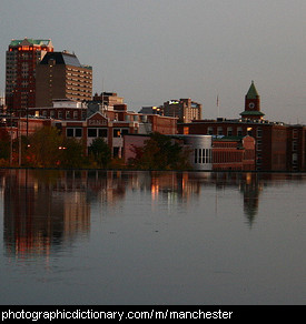 Photo of Manchester, New Hampshire