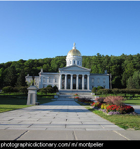 Photo of Montpelier, Vermont