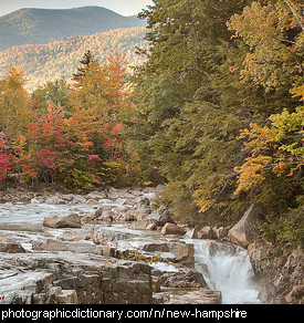 Photo of Swift River in New Hampshire