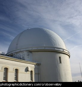 Photo of an observatory