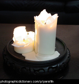 Photo of wax candles