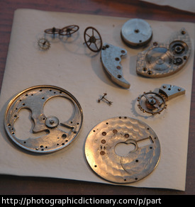 Photo of watch parts