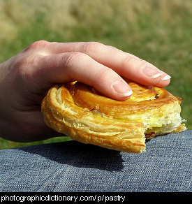 Photo of a pastry