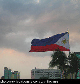 Photo of the Philippines flag