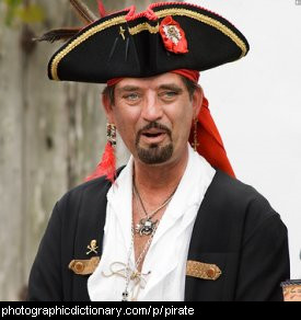 Photo of a pirate