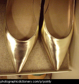 Photo of pointy shoes