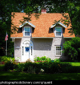 Photo of a quaint cottage