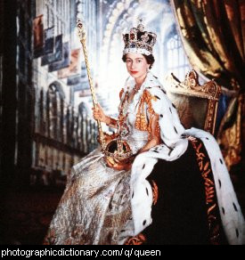 Photo of the Queen