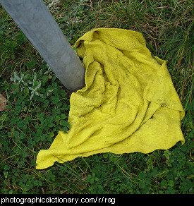 Photo of a rag