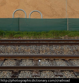 Photo of a railroad