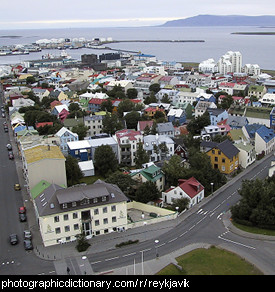 Photo of Reykjavik, Iceland