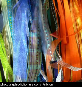 Photo of ribbons