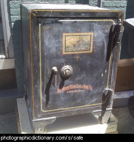 Photo of a safe
