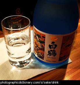 Photo of sake