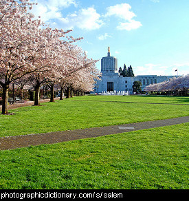 Photo of Salem, Oregon