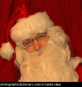 Photo of Santa Claus