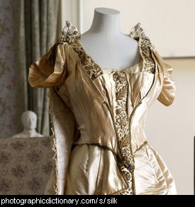 Photo of a silk dress