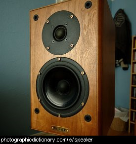Photo of a speaker