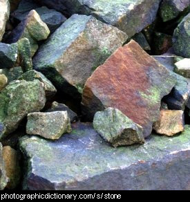 Photo of some stones