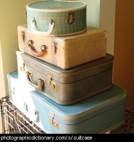 Photo of some suitcases.