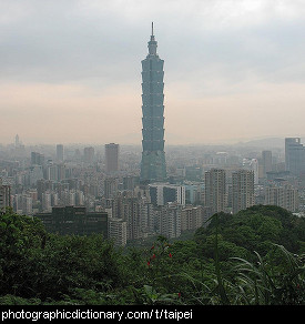 Photo of Taipei, Taiwan