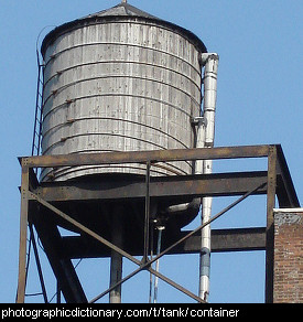 Photo of a water tank