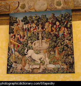 Photo of a tapestry