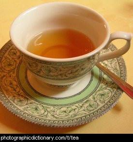 Photo of a cup of tea