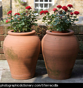Photo of terracotta pots