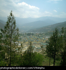 Photo of Thumphu, Bhutan