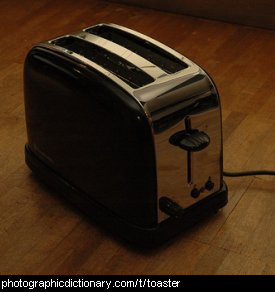 Photo of a toaster
