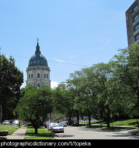 Photo of Topeka, Kansas