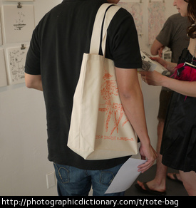 Photo of a tote bag