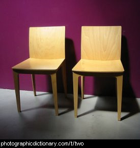 Photo of two chairs