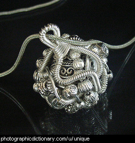 Photo of a unique pendant
